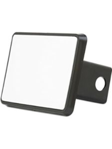 CafePress blank  trailer hitch cover