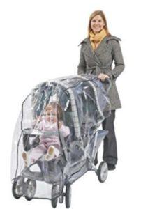 Comfy Baby britax b agile  double stroller rain covers