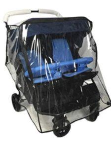 Ezkindheit britax b agile  double stroller rain covers