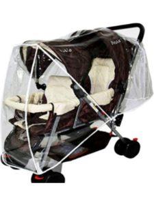 YUENA CARE britax b agile  double stroller rain covers