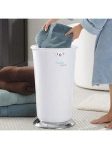 Brookstone hot towel warmer