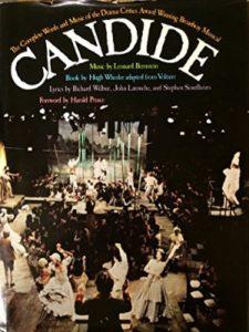 See Description candide  broadway musicals