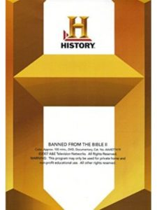 A&E channel  bible documentary histories