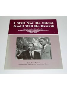 South Carolina Dept. of Archives & History, Public Programs Division martin luther king