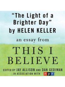 Macmillan Audio day  helen kellers