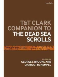 T&T Clark    dead sea scroll histories