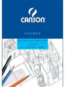 Canson definition  tissue papers
