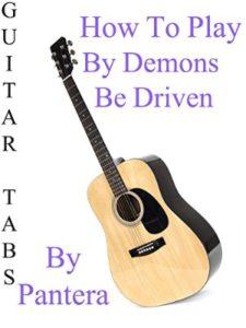 amazon demon  guitar tabs