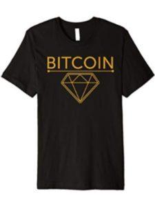 Cryptocurrency Tees - By Le Yogi diamond  blockchain bitcoins