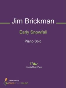 OnlineSheetMusic.com early snowfall  jim brickmen