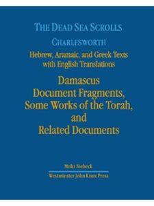 Mohr Siebeck english translation  dead sea scrolls