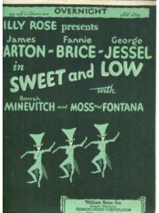 William Rose, Inc. fanny  broadway musicals