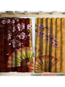warmfamily floral fan  decks