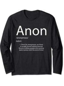 Anonymous Anon Long Sleeve Shirt found  satoshi nakamotoes