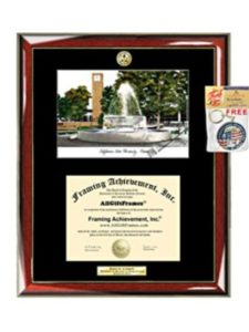 Graduation Lithograph Frame AllGiftFrames fresno state  social works