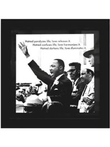 Product Hut giving speech  martin luther kings
