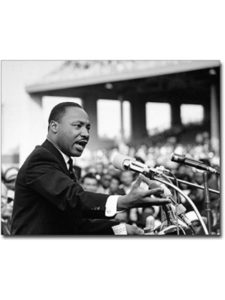The McMahan Photo Art Gallery & Archive giving speech  martin luther kings