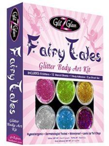 GlitZGlam glitter tattoo stencil kits
