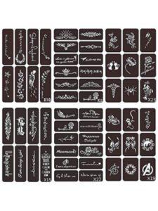 VEAMOR glitter tattoo stencil kits