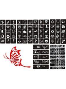 ZEYER glitter tattoo stencil kits