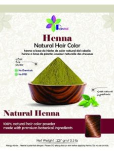 Nature's Essence hair dye  henna tattoos