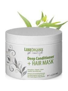 LuxeOrganix    hair mask shinies