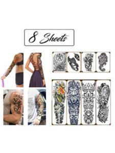 TLK Tech Creations half sleeve  tattoo designs