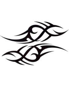 Niome half sleeve  tattoo stencils