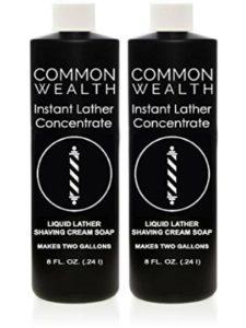 Common Wealth heated dispenser  shaving lathers