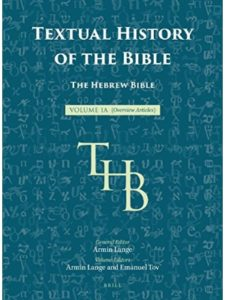 Brill Academic Pub    hebrew bible histories
