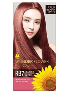 Somang   henna browns with rose