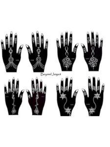 Tie    henna design drawings