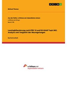 GRIN Verlag    ifrs leasing standards