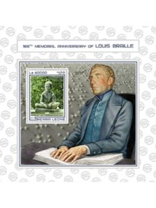 United States of America    inventor louis brailles