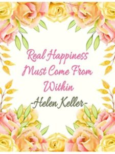 Independently published journal  helen kellers