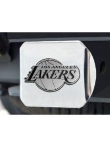 Fan Mats lakers  trailer hitch covers