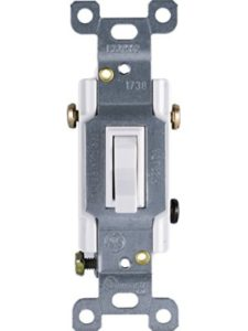 Jasco light switch  pressure plates