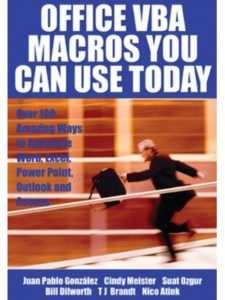 Holy Macro! Books macro  office words