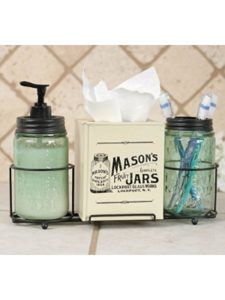 The Rusted Key mason jar  tissue papers