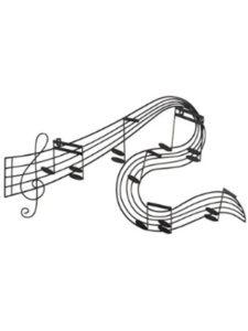 Benzara    metal music pianos