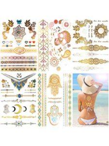 Knit moon  henna tattoos