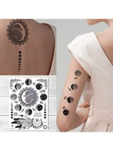 Supperb moon  henna tattoos