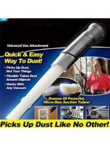 Dusty Brush mulcher  portable leaf vacuums