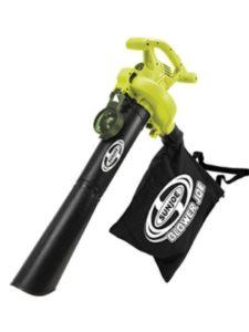 Sun Joe mulcher  portable leaf vacuums
