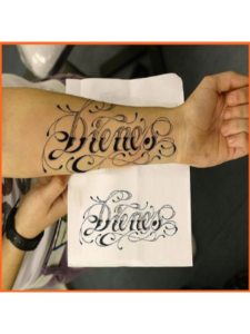 suryagede name lettering  tattoo designs