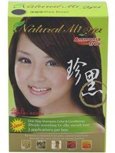 Natural Miya natural dye  brown henna hairs
