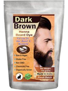The Henna Guys natural dye  brown henna hairs