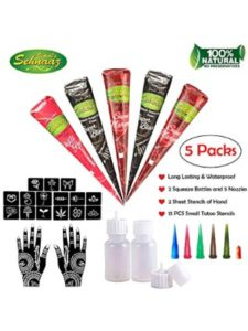 COKOHAPPY natural  henna tattoo kit