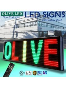OLIVE LED new york  technical supports