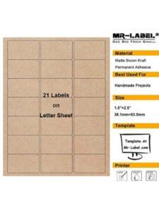 Mr-Label openoffice microsoft  words